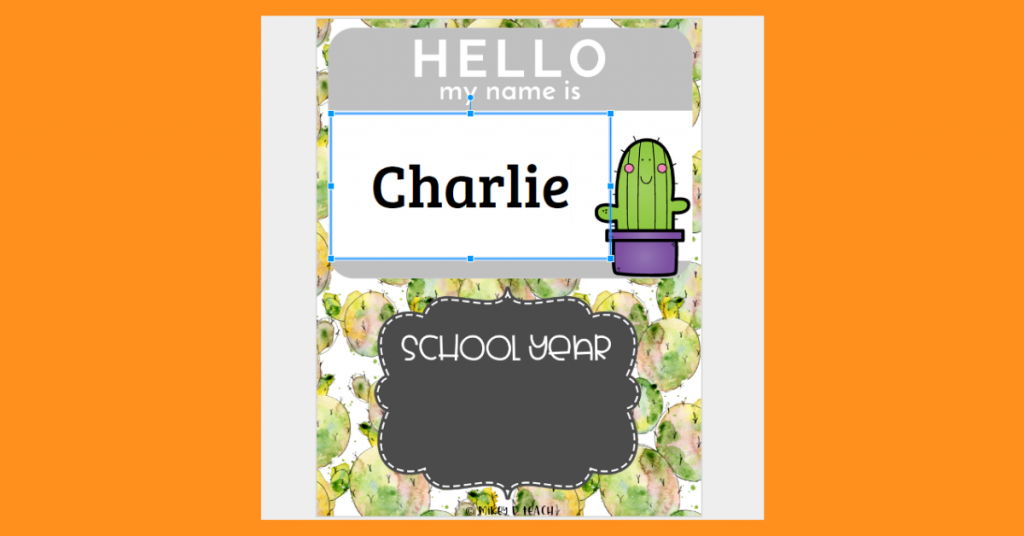 new student example cactus