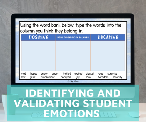 The Importance of Identifying and Validating Students